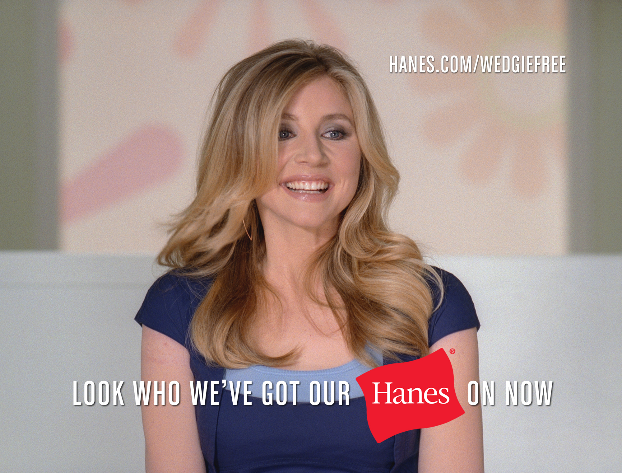 Hanes® and Actress Sarah Chalke Tackle (and Conquer!) the Dreaded Wedgie
