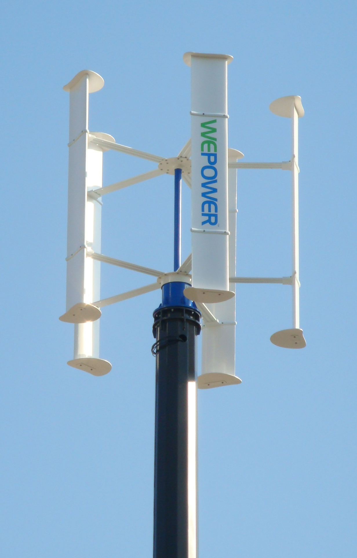 Rooftop Wind Power - Rooftop and Pole Mounted VAWT