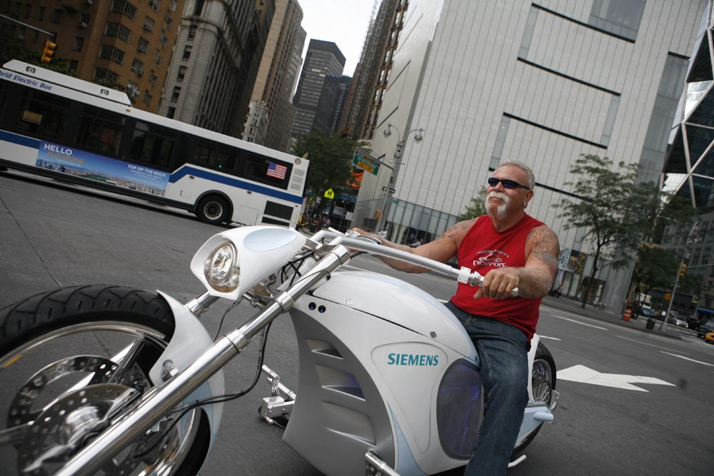 Siemens Smart Chopper To Be Featured On Hit Tv Show American Chopper