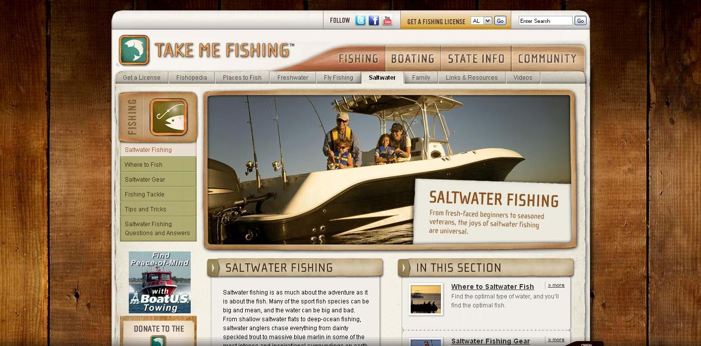 Take me fishing tm launches spring campaign to get next for Take me fishing