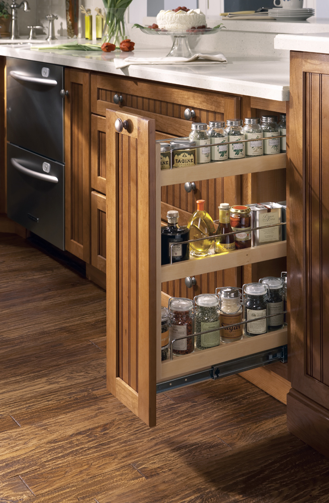 Kitchen Pull Out Spice Rack